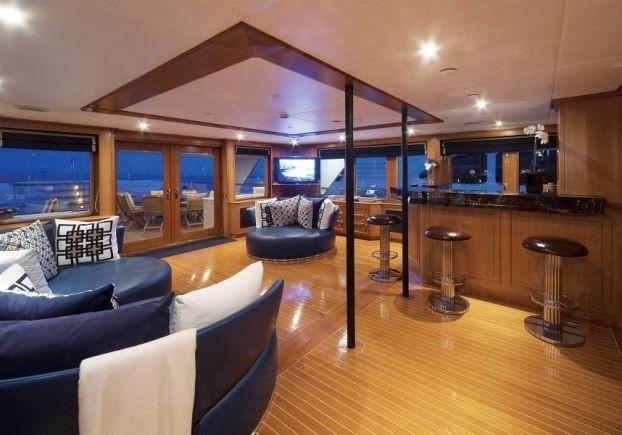 Drinks Bar Aboard Yacht AUDACIA