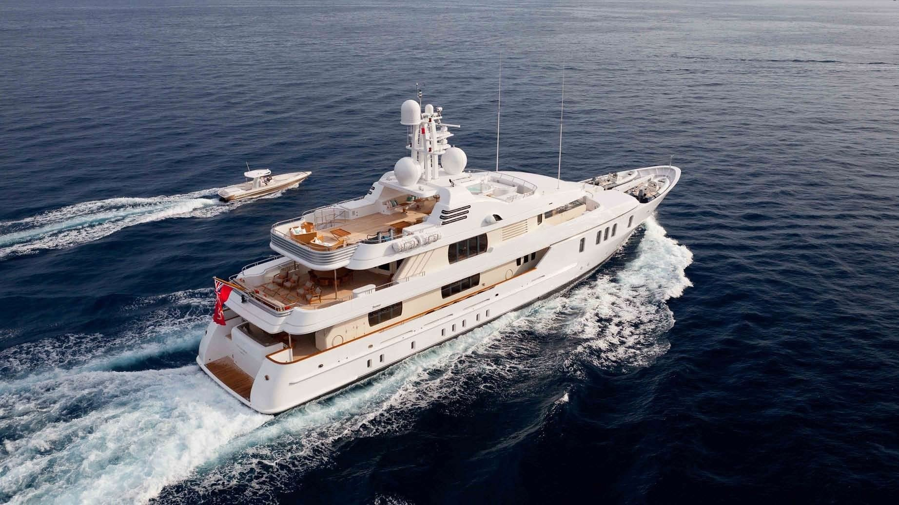 The 49m Yacht HANIKON