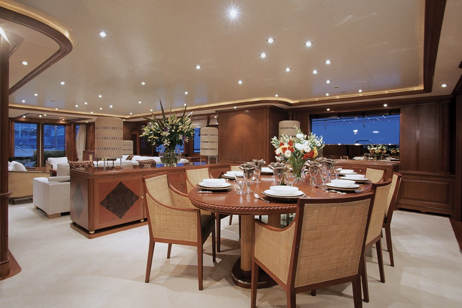 Eating/dining Saloon On Board Yacht JO