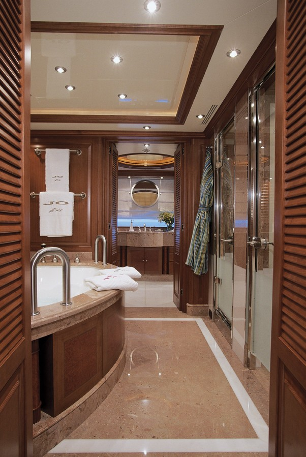 Main Master Bath On Yacht JO