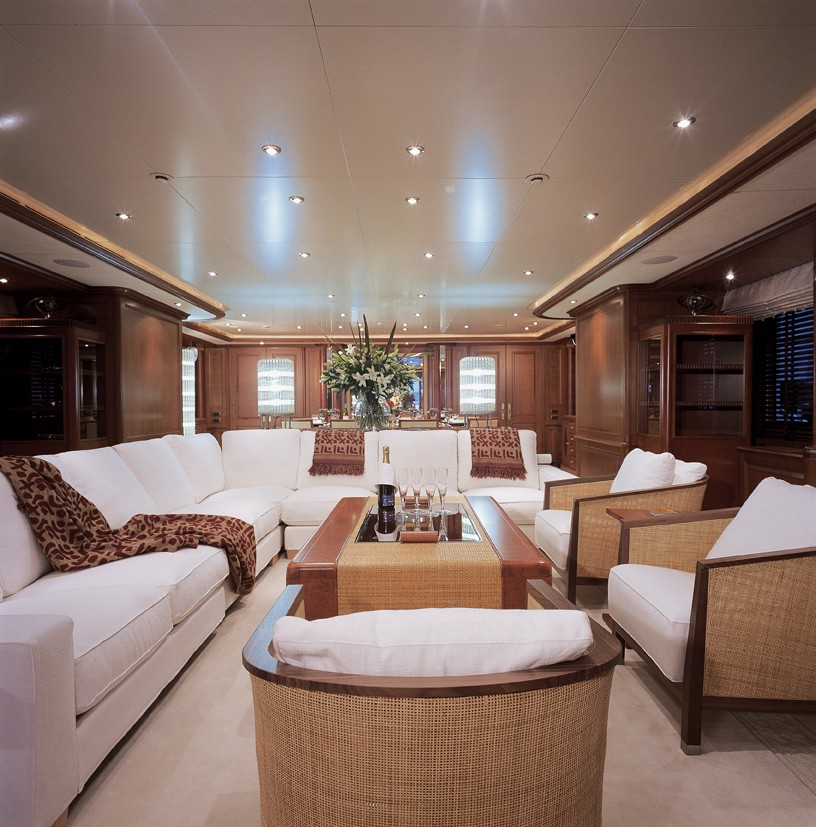 Premier Saloon On Yacht JO