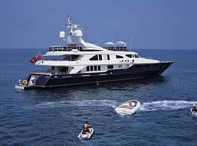 Anchorage On Board Yacht JO