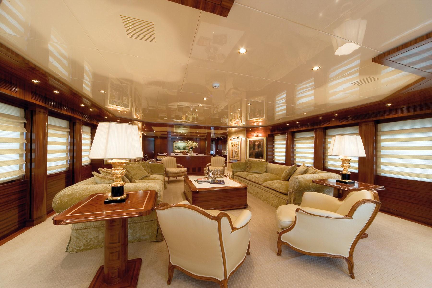 Premier Saloon On Yacht O'CEANOS