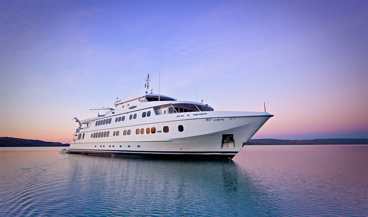 The 49m Yacht TRUE NORTH