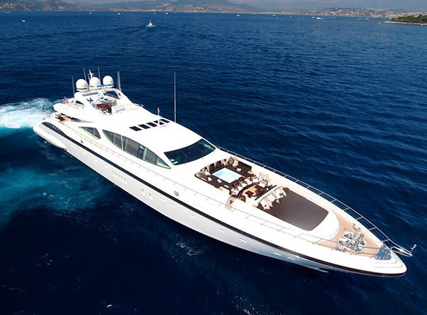 Profile On Board Yacht ZEUS I