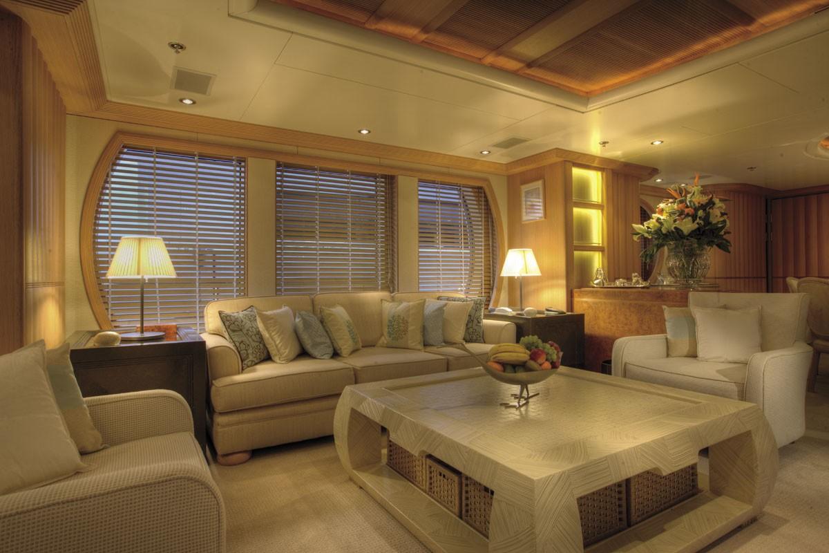 Saloon Aboard Yacht MARLA