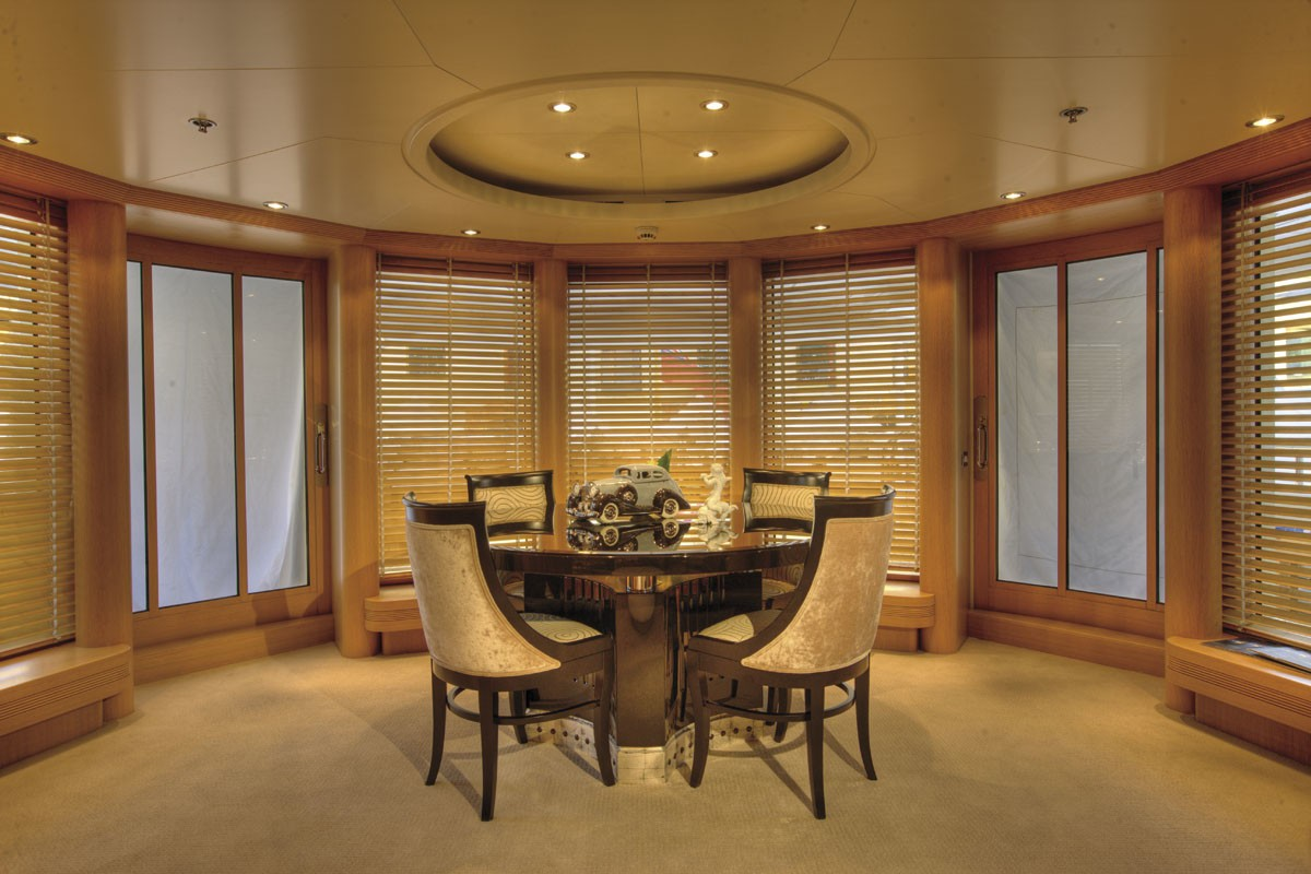 Furniture: Yacht MARLA's Top Saloon Pictured