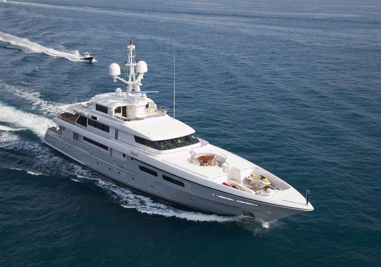 From Above Aspect Aboard Yacht OL MI DA