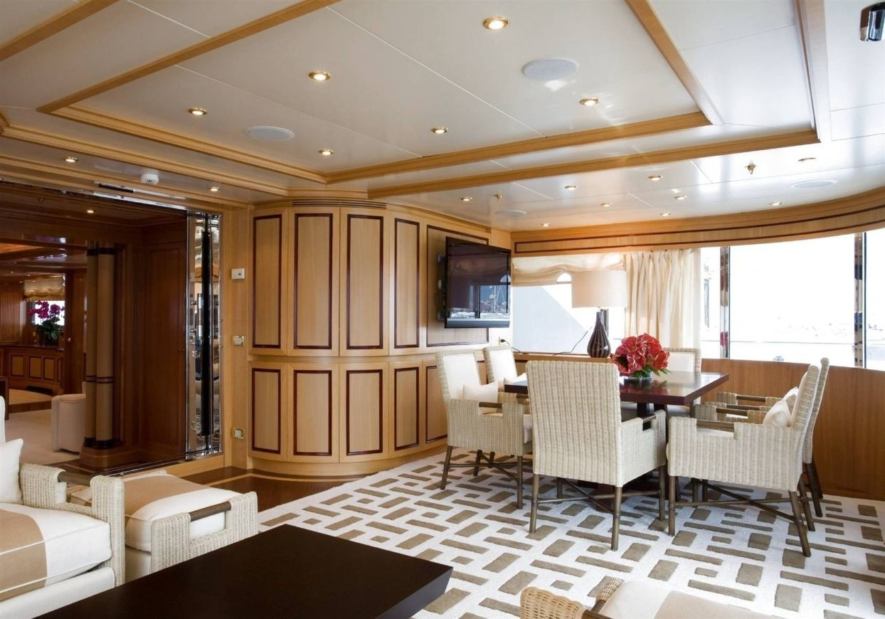 Aft Entry Starboard Side On Board Yacht OL MI DA