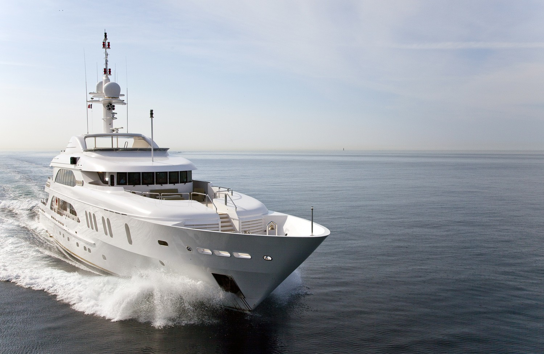 The 50m Yacht SENSATION