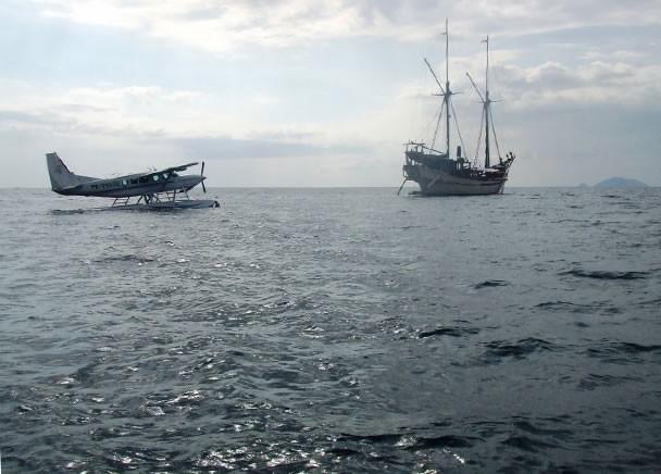 Aft Aspect On Board Yacht SILOLONA