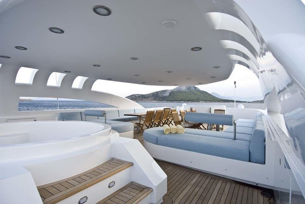 Sun Deck On Yacht O'NEIRO