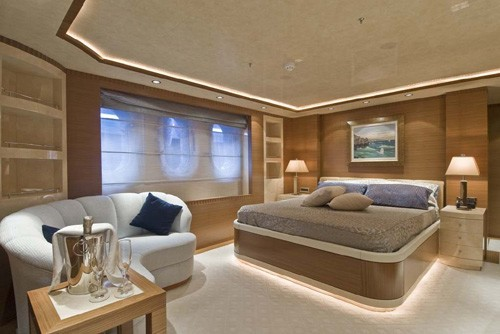 Double Sized Cabin On Board Yacht O'NEIRO