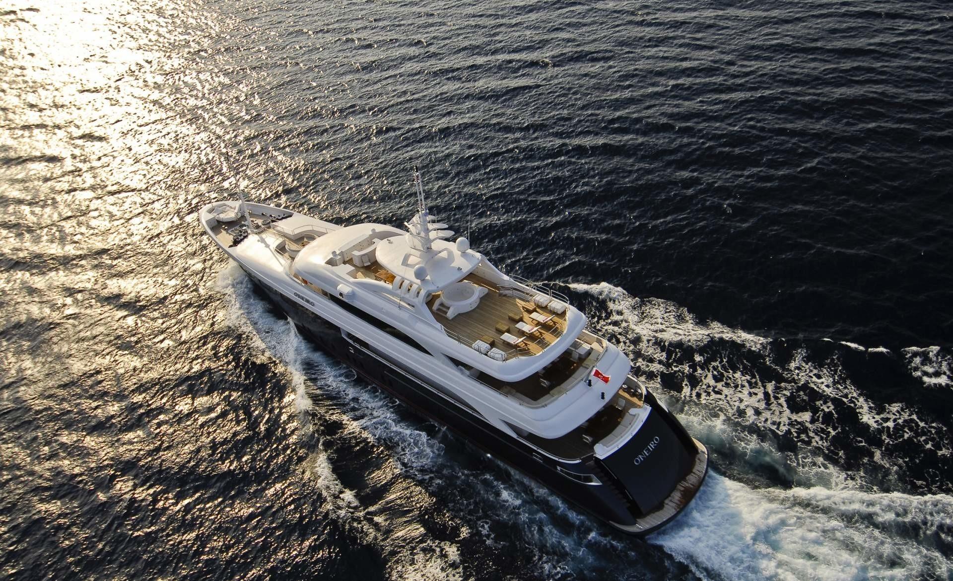 Aft Aspect: Yacht O'NEIRO's Cruising Image
