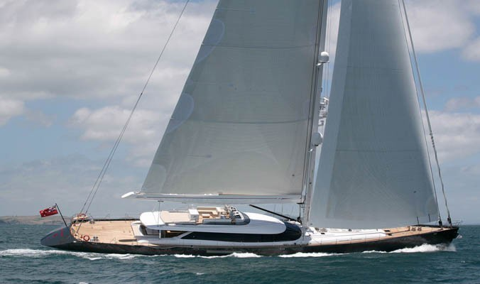 Changing Course Aboard Yacht RED DRAGON
