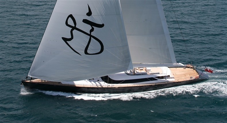 Profile: Yacht RED DRAGON's Cruising Pictured