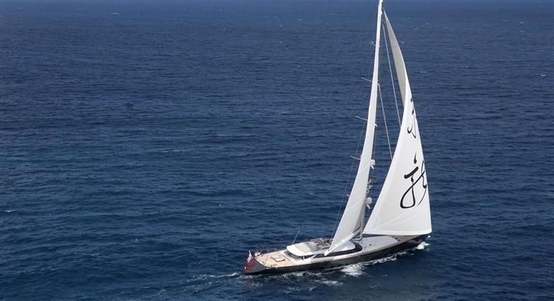 Cruising On Board Yacht RED DRAGON