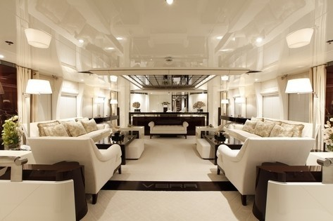 Saloon Profile On Board Yacht VERA