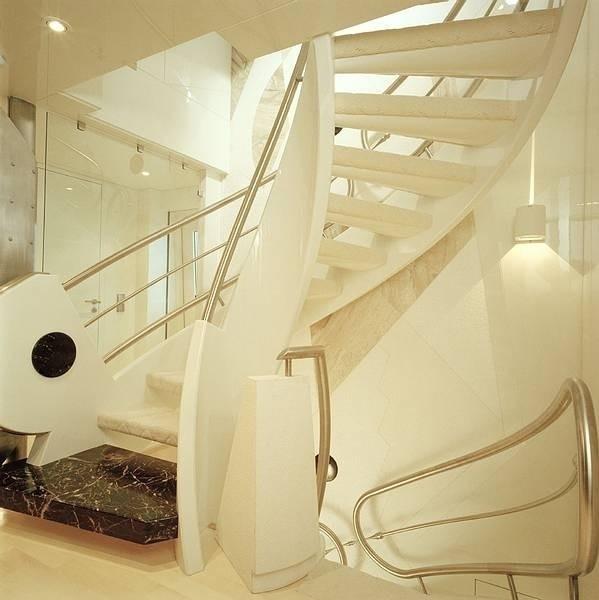 Stairway Aboard Yacht VERA