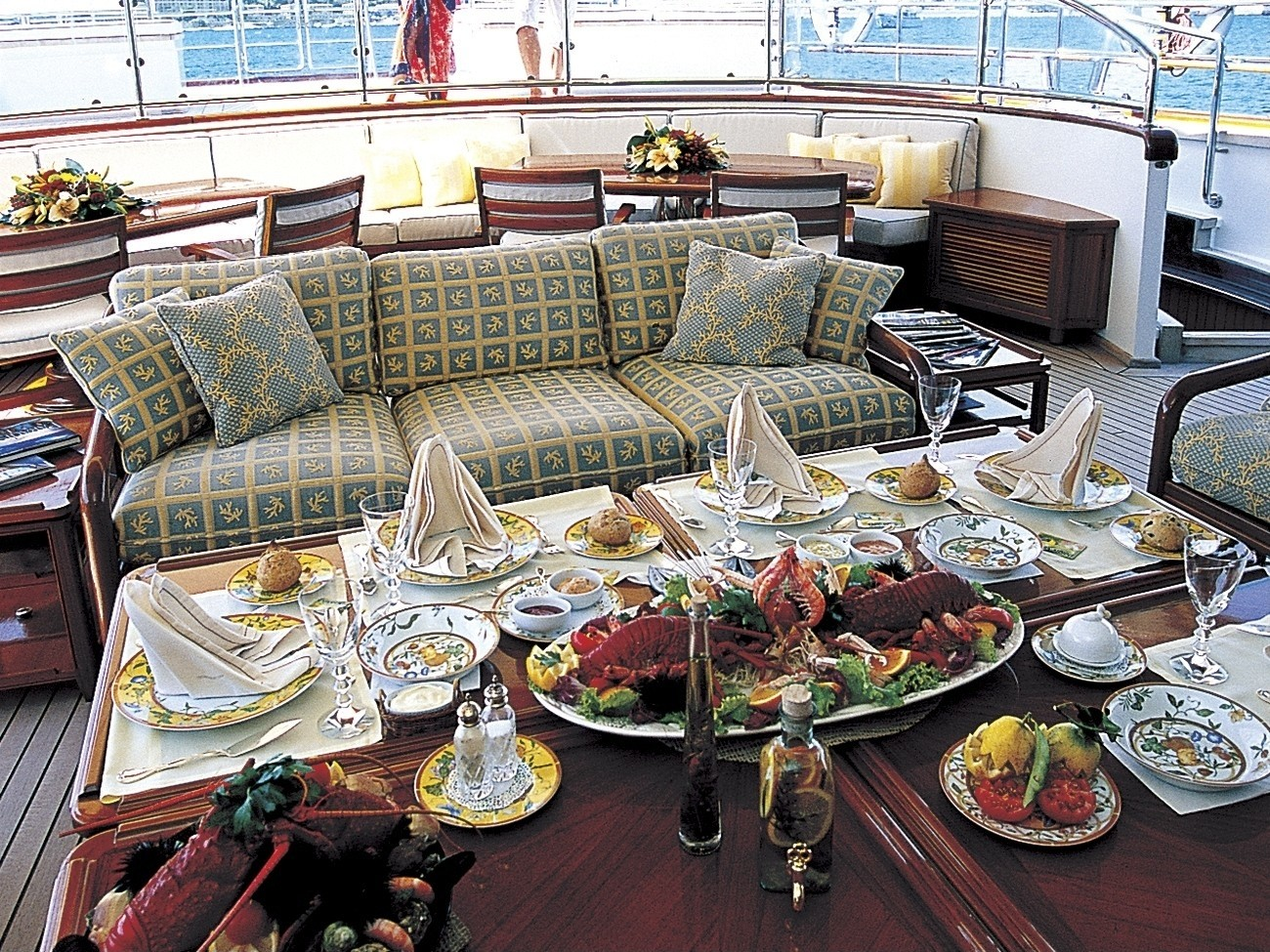 External Eating/dining On Yacht ATMOSPHERE