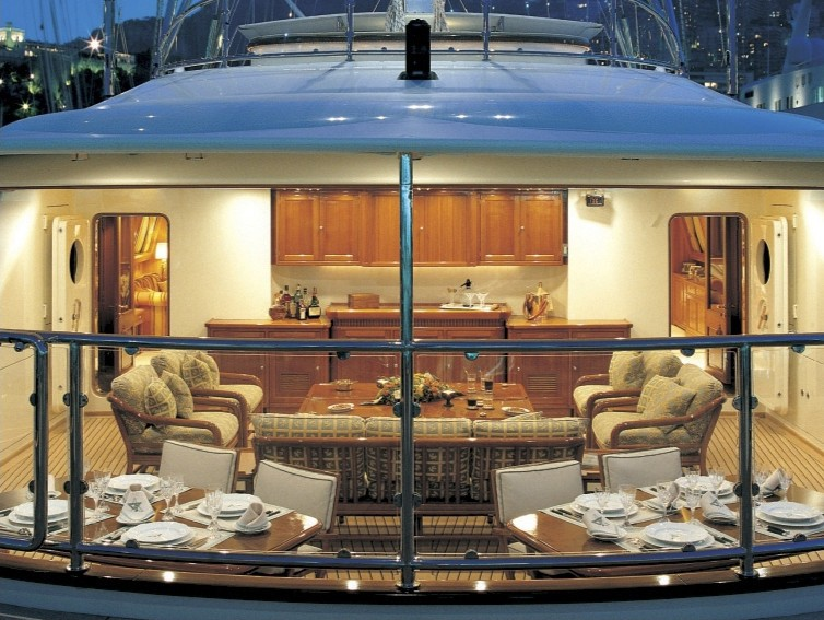 Aspect Interior On Board Yacht ATMOSPHERE