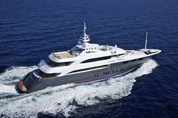 Profile Aspect: Yacht MIA RAMA's Cruising Image