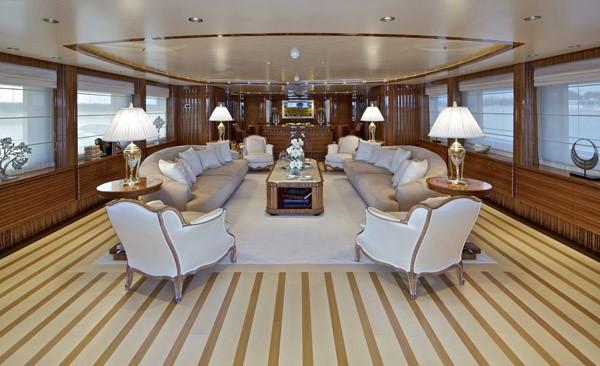 Saloon Profile On Yacht MIA RAMA
