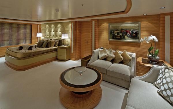Main Master Cabin Aboard Yacht MIA RAMA