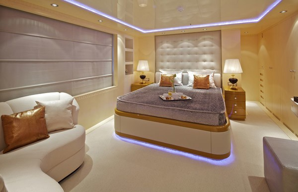 Blue Guest's Cabin Aboard Yacht MIA RAMA