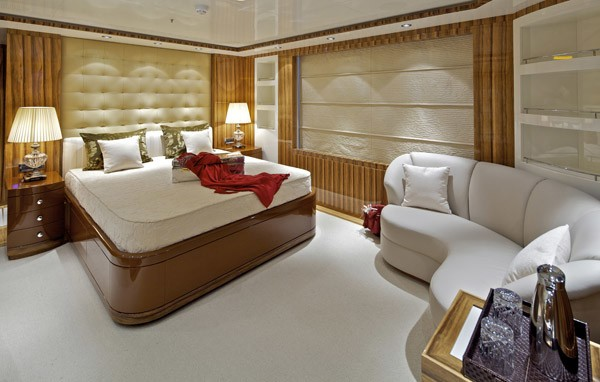 Red Guest's Cabin On Yacht MIA RAMA