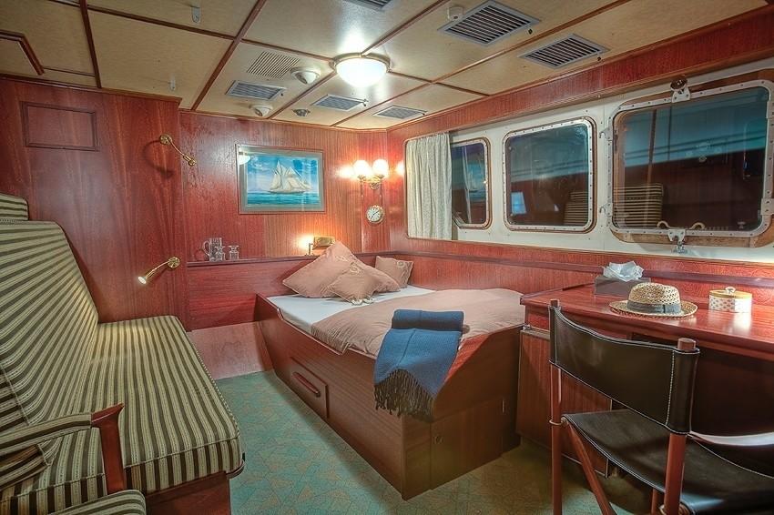 Guest's Cabin On Board Yacht SANSSOUCI STAR