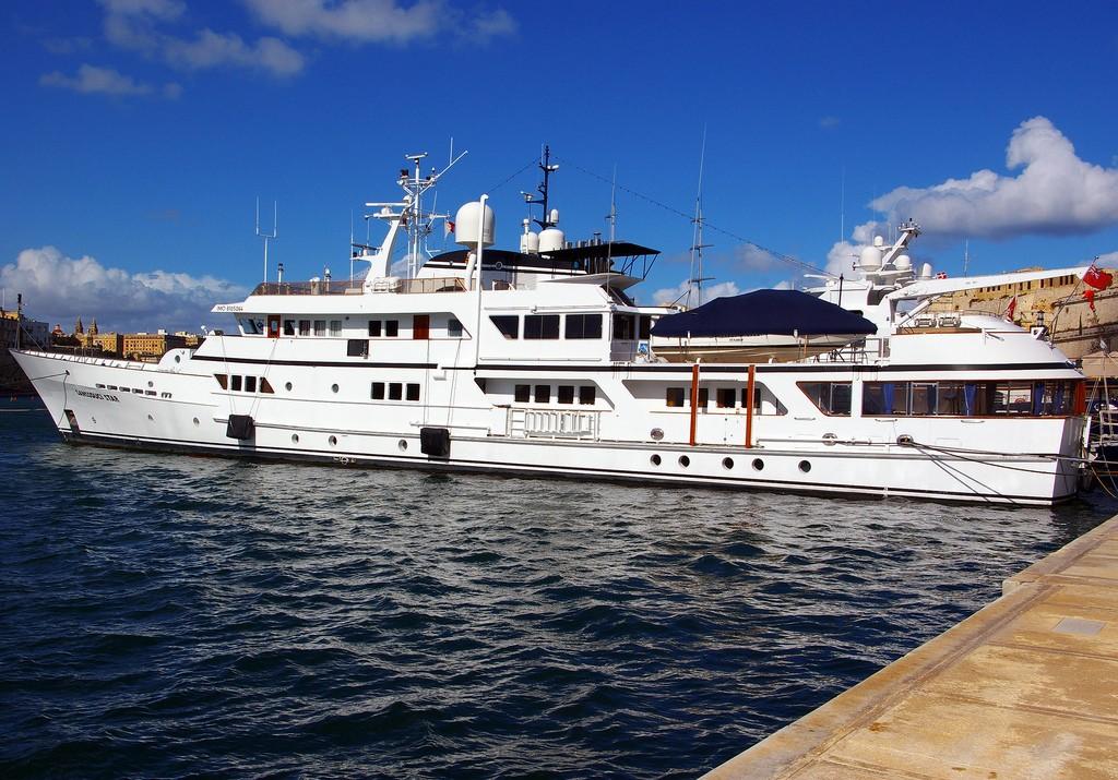 Stationary On Board Yacht SANSSOUCI STAR