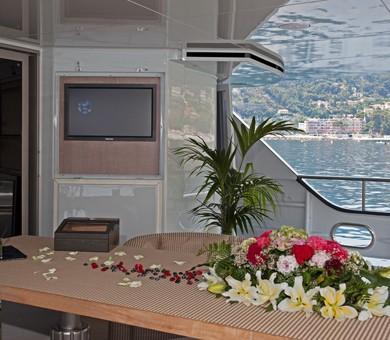 Premier Aft Deck On Board Yacht MARIU