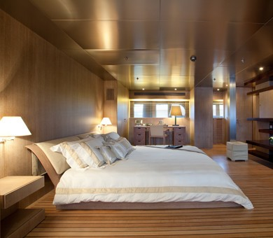 Main Master Stateroom On Board Yacht MARIU