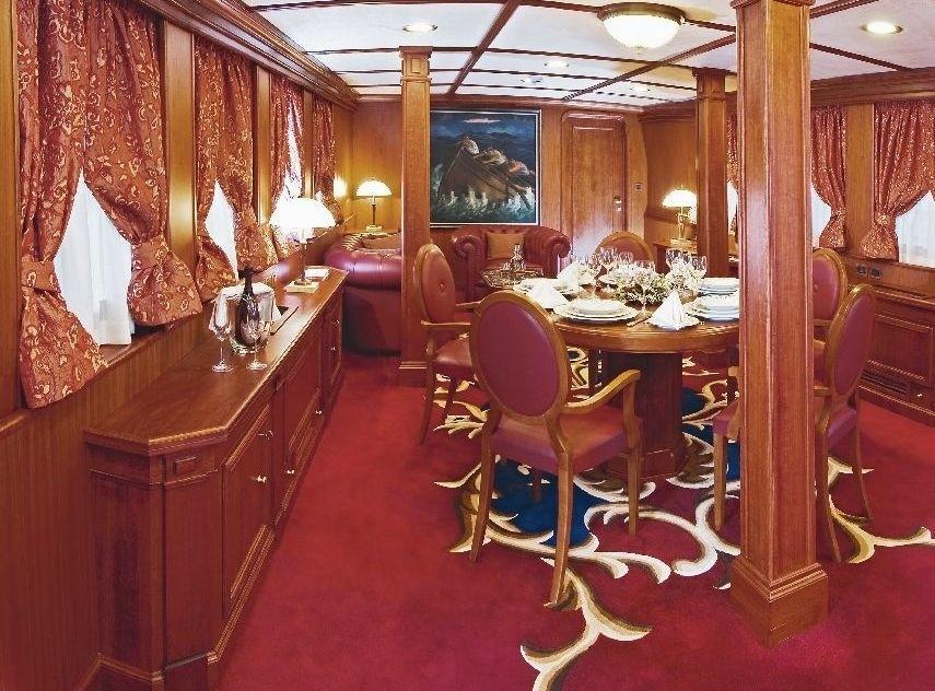 Main Master Personal Saloon Aboard Yacht SEAGULL II