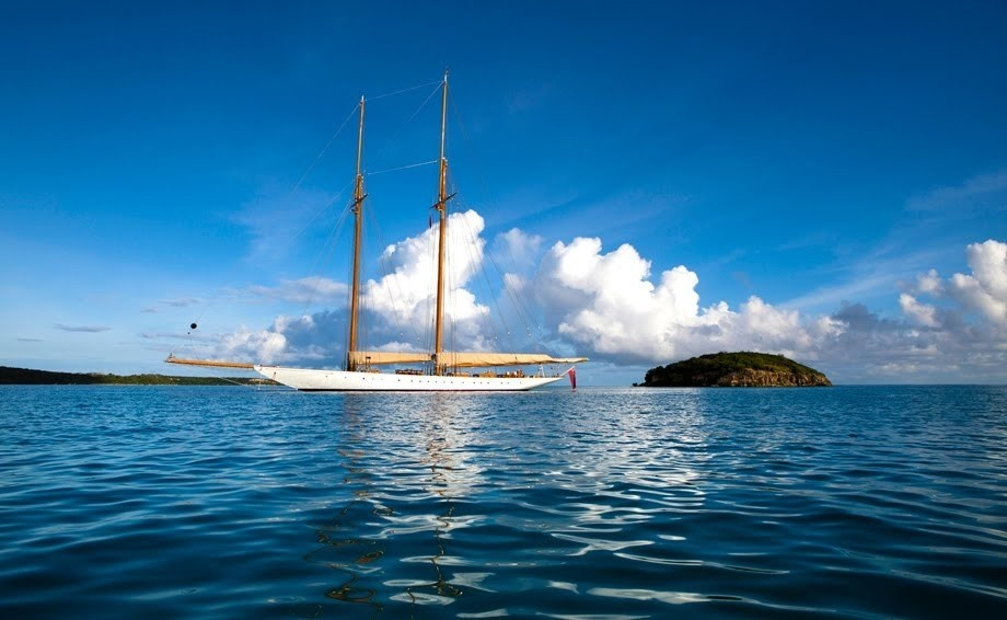 Sailing Down Aboard Yacht ELENA