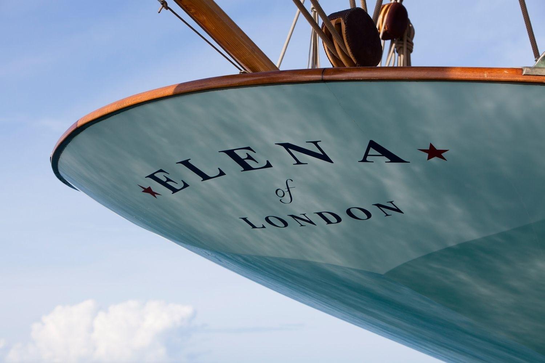 Aft On Board Yacht ELENA