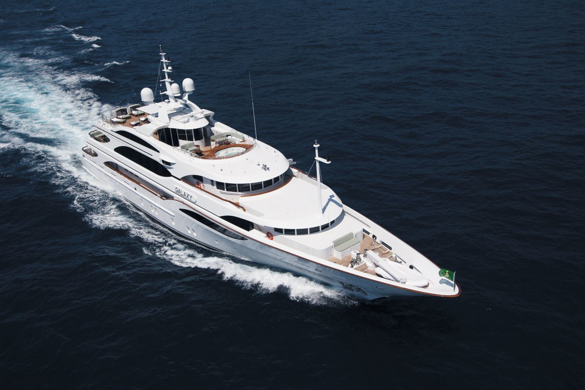 The 56m Yacht GALAXY