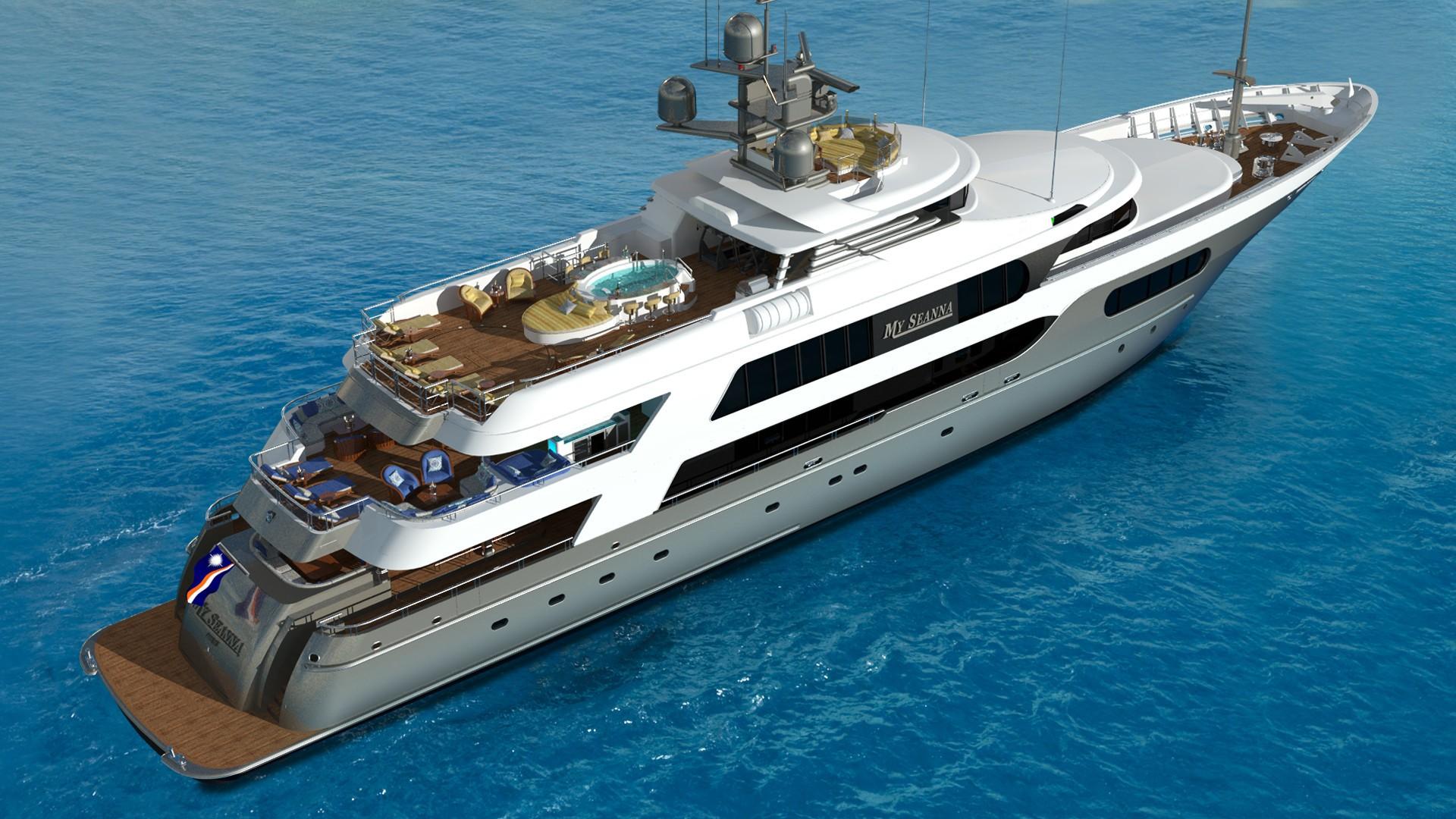 The 56m Yacht MY SEANNA