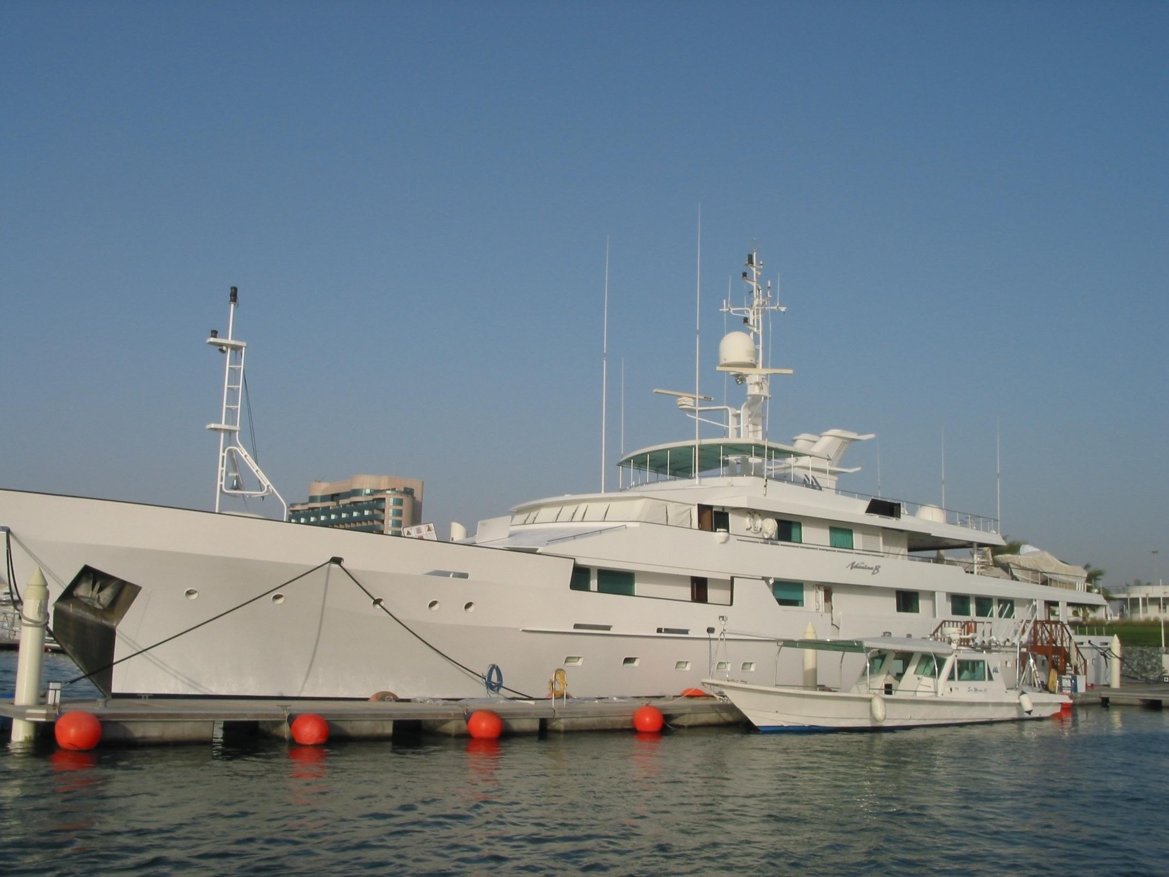 The 56m Yacht O'NATALINA