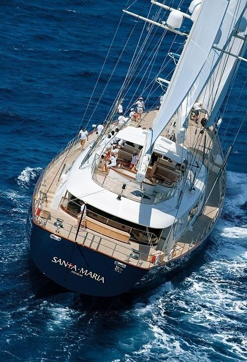 Aft Aboard Yacht ZENJI