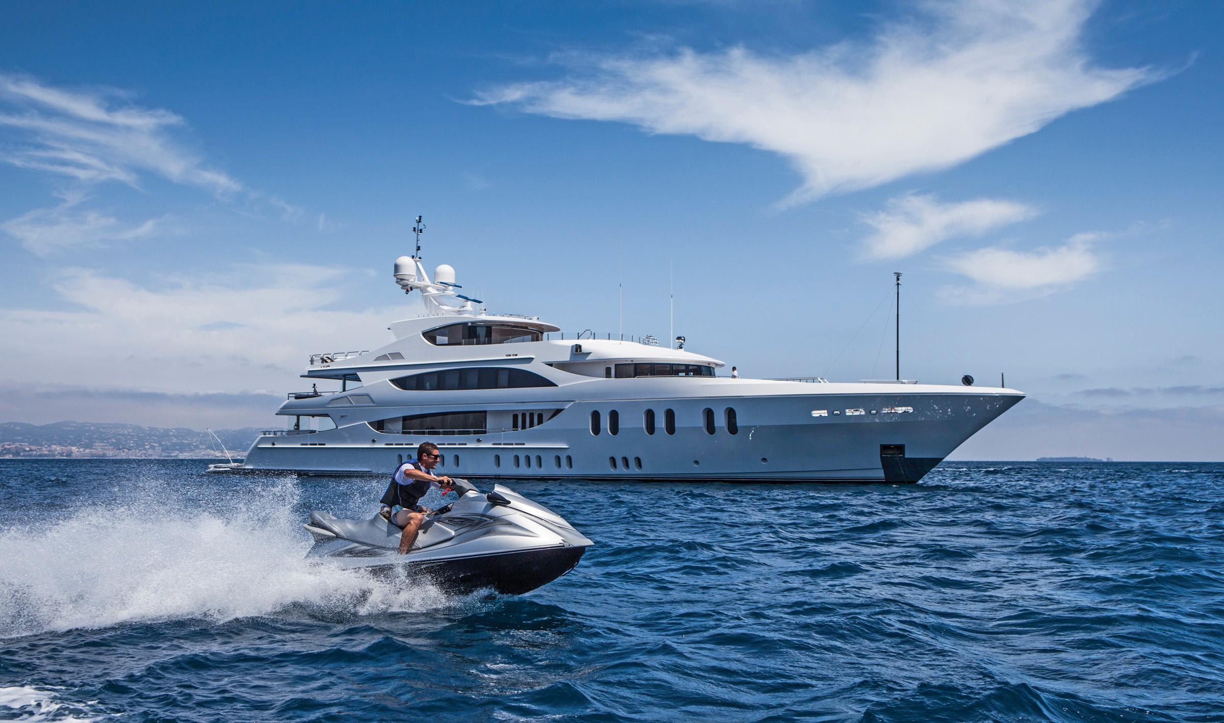 57m motor yacht by Trinity Yachts