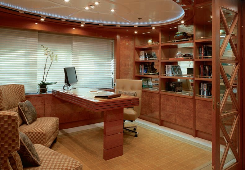 master suite study / office