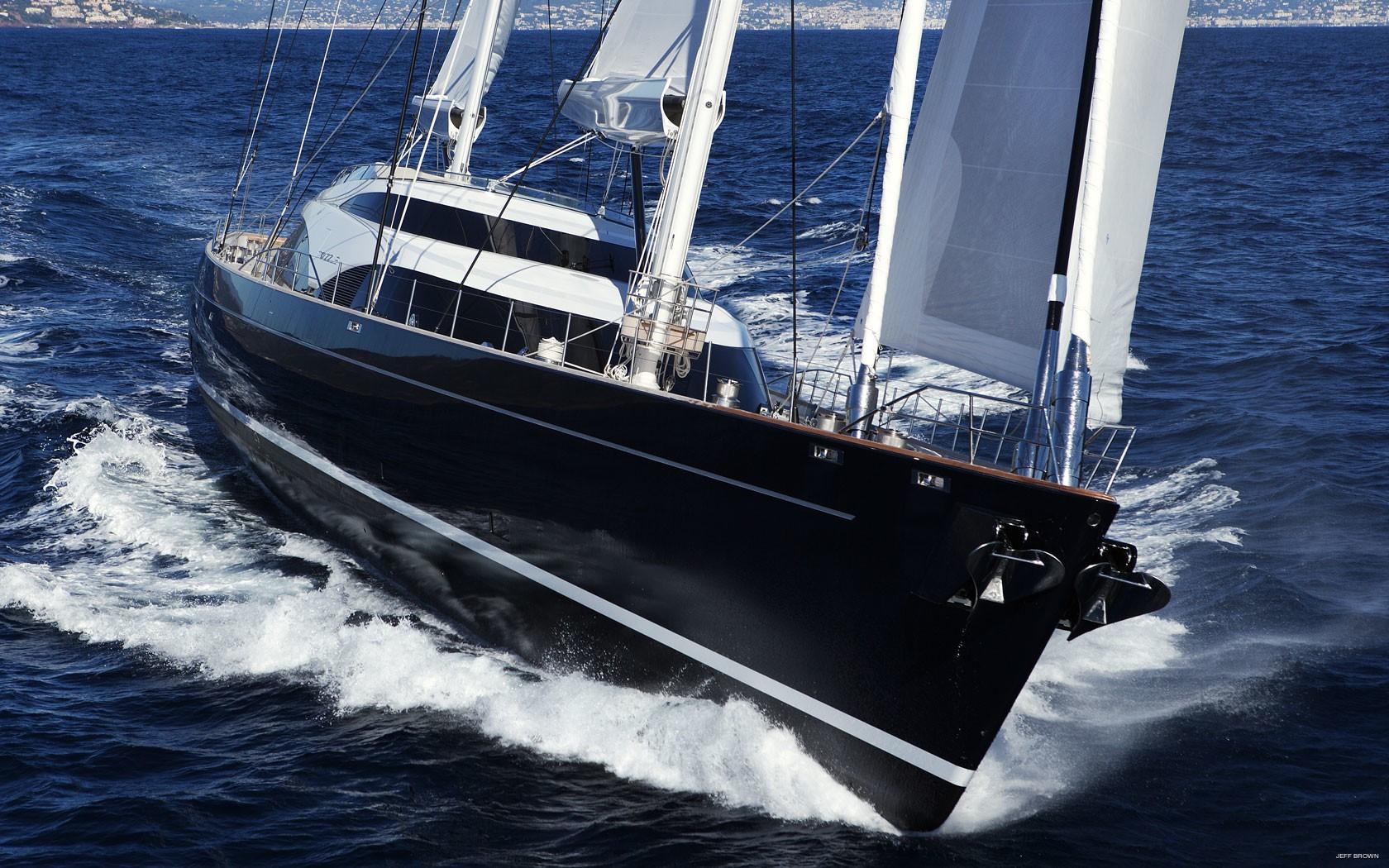 dutch coast yacht aragorn - HD1680×1050