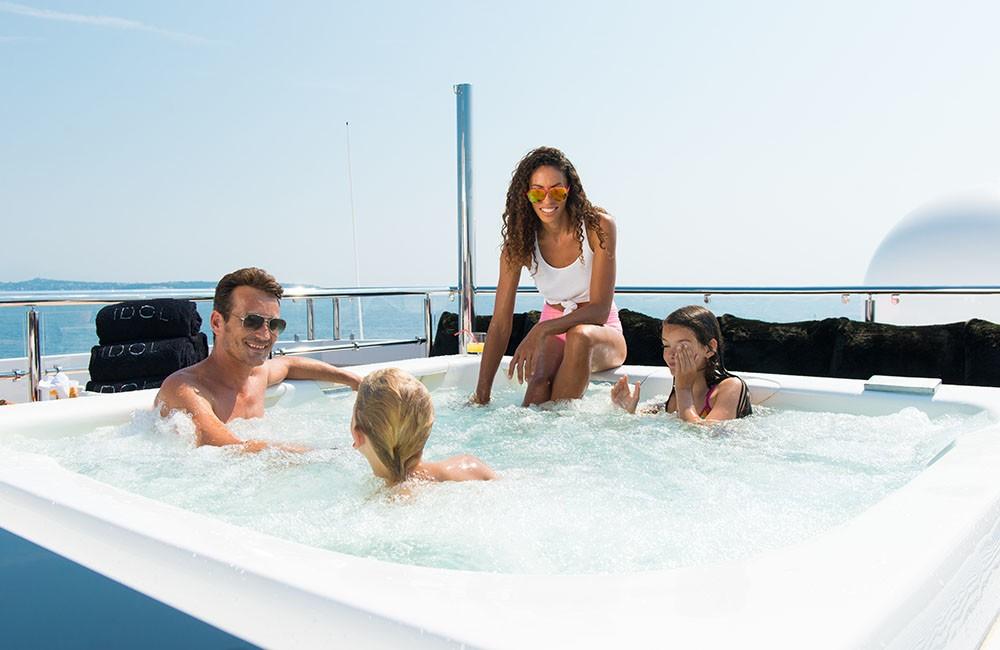 Life On Board Yacht IDOL