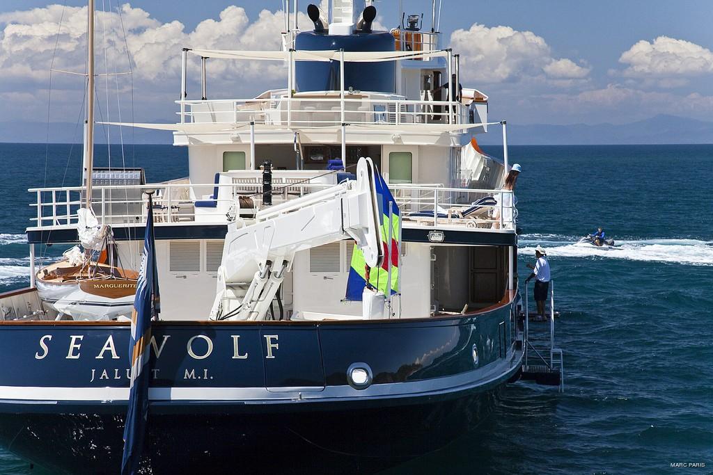 Aft On Yacht SEAWOLF