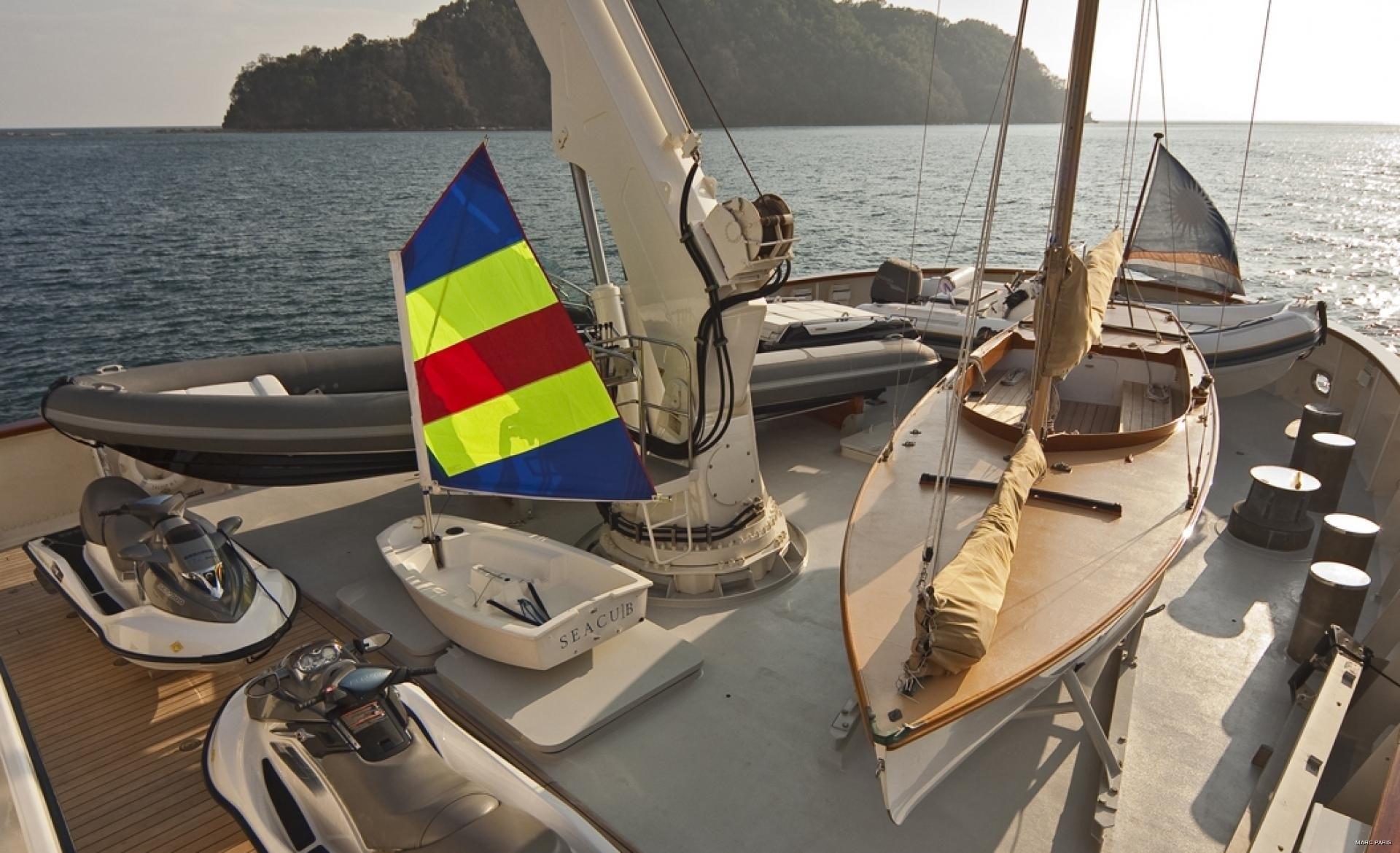 Toys On Board Yacht SEAWOLF
