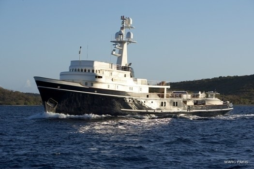Overview On Board Yacht SEAWOLF