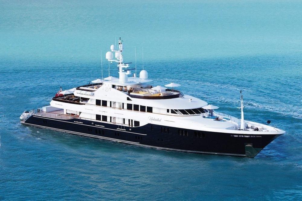 The 58m Yacht UNBRIDLED