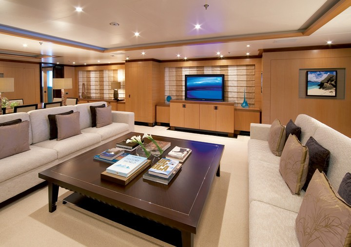 Saloon Furniture On Board Yacht ANDREAS L